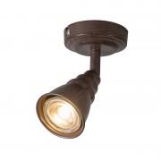 QAZQA Spot Coney 1 roestkleur