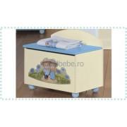 Erbesi Italia - Cutie jucarii ERBESI GIRAMONDO albastru