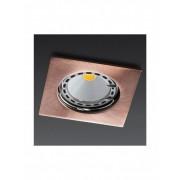 Spot incastrabil MT 122 din aluminiu culoare alama rosie antica 70333 Smarter