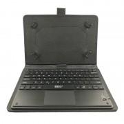 Husa tableta bluetooth cu Touchpad MRG C-363, 10 inch, cu Tastatura, Negru