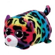 Ty Beanie Pluche Ty Teeny luipaard knuffel 10 cm