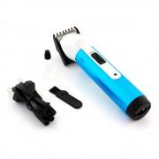 Masina de Tuns Parul si Barba, Lungime Taiere Reglabila, Putere 3W, Baterie Reincarcabila, Albastru