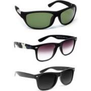 TheWhoop Sports, Wayfarer Sunglasses(Green, Black)