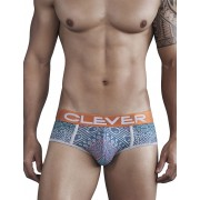 Clever Bantu Piping Brief Underwear Green 5279