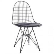 KH Krzesło NET - inspirowane proj. Wire Chair Czarne