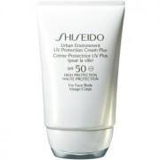 Shiseido Sun Care Urban Environment UV Protection Cream Plus Federleichte Sonnenschutzcreme SPF 50 50 ml