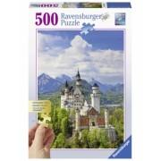 Puzzle Castelul Neuschwanstein, 500 Piese Ravensburger