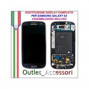 Sostituzione Display Rotto Samsung Galaxy S3 NEO I9301 Lcd Vetro Schermo Riparazione Cambio Assemblaggio