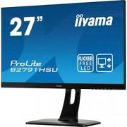 Iiyama LED monitor Iiyama ProLite B2791HSU, 68.6 cm (27 palec),1920 x 1080 px 1 ms, TN LED DisplayPort, HDMI™, USB, VGA, zásuvka sluchátek