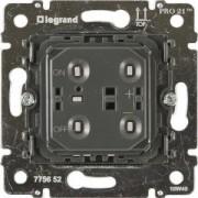 Galea Life nyomógombos fényerőszabályzó dimmer mechanizmus, 40-400W (775652), Legrand