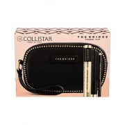 Collistar Volume Unico tonalità Intense Black confezione regalo mascara 13 ml + matita occhi Kajal Pencil 0,8 g Black + trousse The Bridge