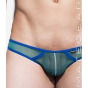 Mategear So Nam V Flat Front Half Back Mini Bikini Swimwear Seagreen 1800602