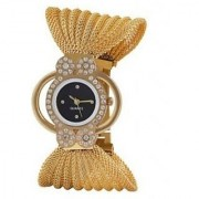 NEW BRAND SUPER FAST SELLING GOLD ZULLA DAIMOND ANALOG WATCH FOR GIRLS WOMEN.