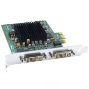 Matrox G550 passieve grafische kaart (PCI-e, 32MB DDR2 geheugen, Dual DVI & VGA, 1 GPU)