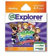 LeapFrog LeapSchool Reading Learning Game (works with LeapPad Tablets LeapsterGS and Leapster Explorer)