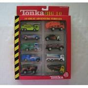 Tonka Big 10 Series - 10 Great Adventure Vehicles - Die Cast Metal