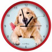 Geen Honden wandklok Golden Retriever rood 25 cm - Action products