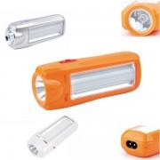 Lanterna LED 1W cu Acumulator si Tub Luminos LED Yajia YJ1027
