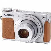 Canon Powershot G9X Mark II Aparat Foto 20.2MP Wi-Fi NFC Bluetooth Argintiu