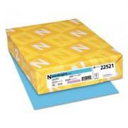 Color Paper, 24lb, 8 1/2 X 11, Lunar Blue, 500 Sheets