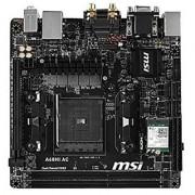 MSI AMD FM2+ A68H DDR3 SATA 6Gb/s USB 3.0 HDMI Mini ITX Motherboard (A68HI AC)