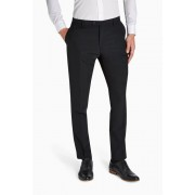 Mens Next Black Tuxedo Suit: Trousers - Black