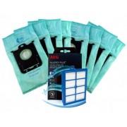 Sáčky s-Bag ® E206 a HEPA Filtr H13 Anti-Allergy ELECTROLUX VCAK1 8+1ks