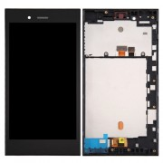 iPartsBuy for BlackBerry Z3 LCD Screen + Touch Screen Digitizer Assembly with Frame(Black)