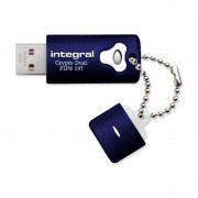 Memorie USB Integral Crypto Dual 8GB USB 2.0 Fips 197 encrypted