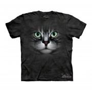 Playera 4d - Caballero -2149 Emerald Eyes Cat