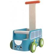 Plan Toys Pchacz Plan Toys Drewniany chodzik niebieski van