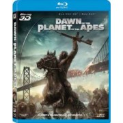 Dawn of the Planet of the Apes BluRay Combo 3D+2D 2014