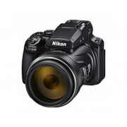 "Nikon Camara nikon coolpix p1000 bridge 16mp - 3"" - zoom 83x - vr - full dh - wifi - gps - nfc"