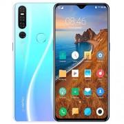 PinShang P30 Pro Smartphone, 6.3-Inch, 6G RAM 128G ROM, 4G Network Dual SIM Dual Standby, 4800mAh Li-on Battery, Android OS 9.1 System, Gradient White European Regulation