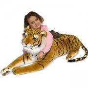 Голяма плюшена играчка Тигър - 12103 - Melissa and Doug, 000772121033