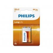 Philips 6F22L1B/10 - Baterie clorura de zinc 6F22 LONGLIFE 9V