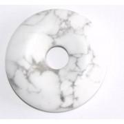 Donut ou pi chinois howlite 2cm
