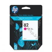 Мастило HP 82, Magenta (69 ml), p/n C4912A - Оригинален HP консуматив - касета с мастило