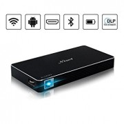 Projector, Mini Portable Pocket Projector with 120 inch Display - HD