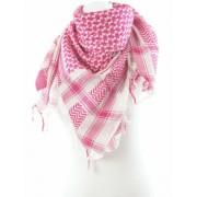 Palestijnse shawl hard roze wit