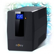 NJOY Horus Plus 600, 600VA/360W, UPS, Line interactive, AVR, Touch LCD, 2xSchuko (PWUP-LI060H1-AZ01B)