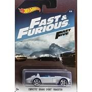 Hot Wheels - Fast & Furious - Corvette Grand Sport Roadster Silver