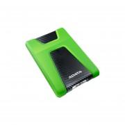Disco Duro Portátil ADATA HD650X De 1 TB, Para X-Box, USB 3.0. Color Verde. AHD650X-1TB-CGN