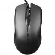 Мишка A4 OP-760 USB BLACK, Optical, 1000 DPI