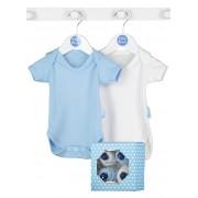 Bluebird - Cadou Baieti Baby Cupcake Bodysuit, 4 body-uri 0-3 luni