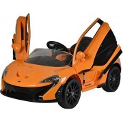GetBest Mclaren P1 Battery Operated Ride on Car for Kids,Orange (Licensed)
