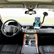 Suport Telefon Auto 2 in 1 Samsung Galaxy A7 ,47-100 mm Negru