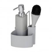 Wenko Šedý set na mytí nádobí Wenko Empire, 250 ml