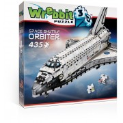 Puzzle 3D Wrebbit - Orbiter Space Shuttle, 435 piese (57018)