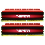 Memorie Patriot Viper 4, DDR4, 2x4GB, 3000MHz (Rosu)